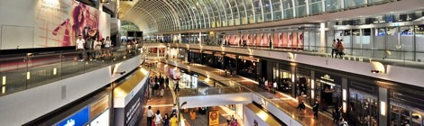 Marina Bay Sands Shopping Mall – Singapore